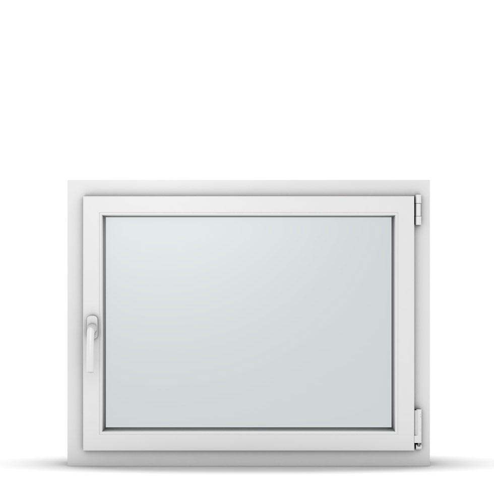 Wohnraumfenster 1-flg. Allegro Max Weiß 950x750 mm DIN Dreh-Kipp Rechts-37192